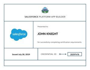 How I Passed the Salesforce Platform App Builder Certification